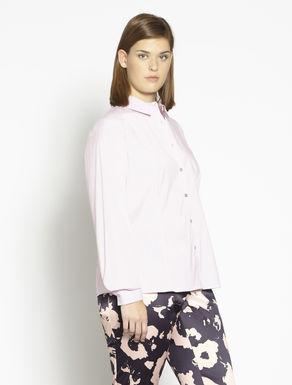 Camicia in cotone e nylon stretch