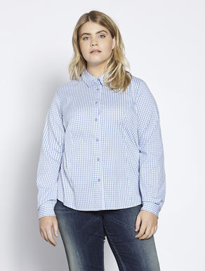 Cotton and stretch nylon shirt