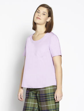 Comfort cotton poplin top