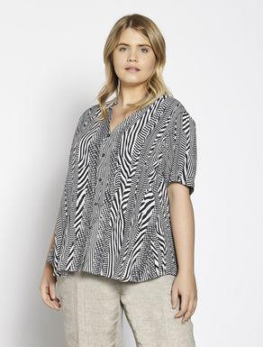 Printed Moroccan shirt