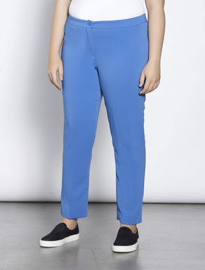 Trousers in a floaty fabric