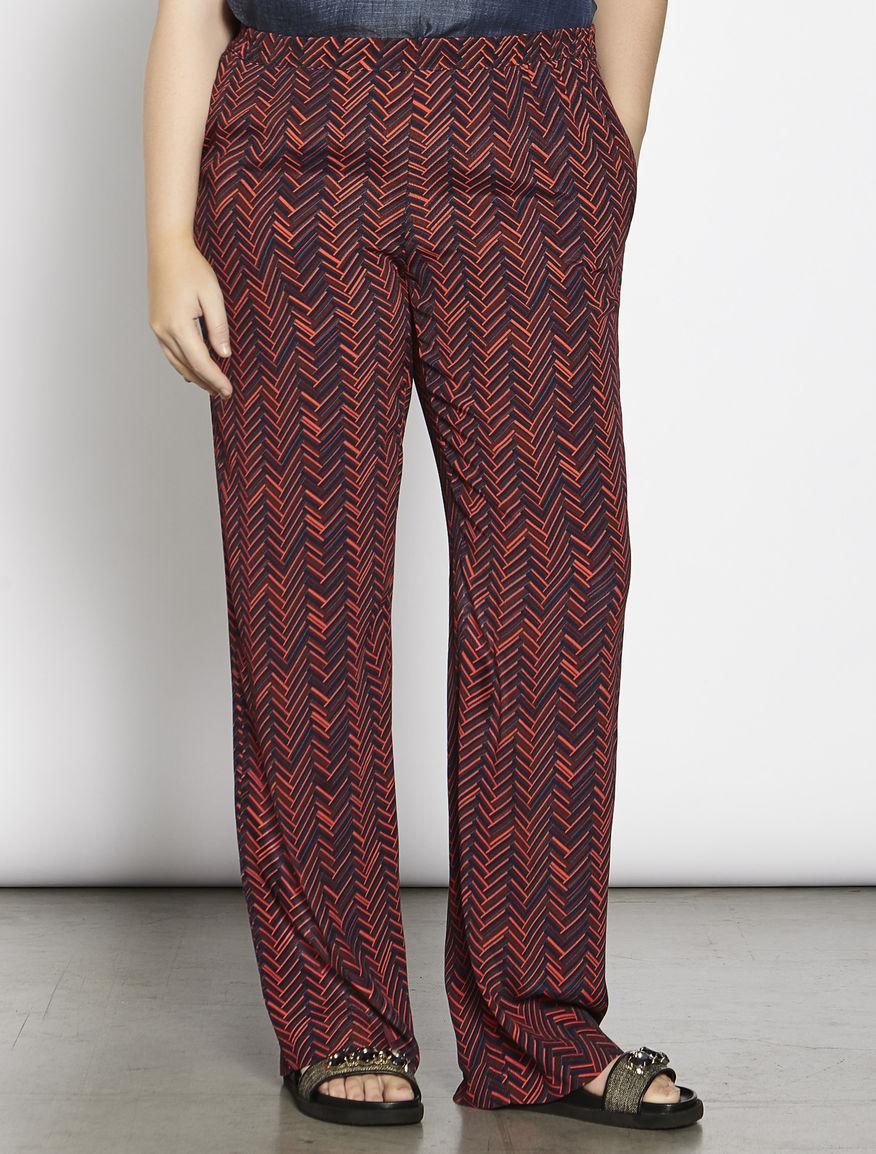 Pantalone in marocaine stampato