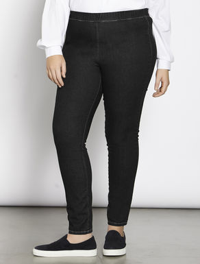 Super stretch denim leggings