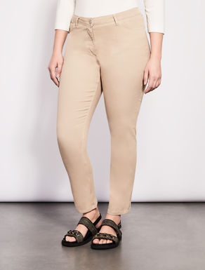 Perfect-fit stretch twill jeans
