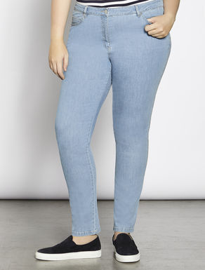 Jeans Shaping fit in denim leggero