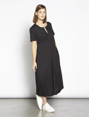 Comfort cotton poplin dress