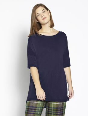 Long floaty viscose sweater