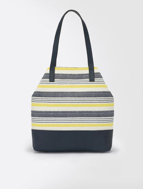 Shopping bag a righe