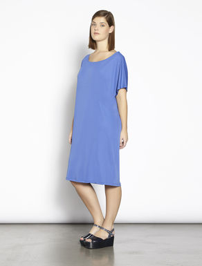 Interlock jersey tunic dress