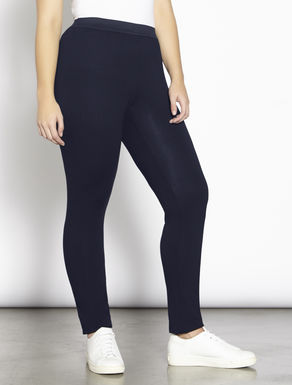 Leggings aus Stretch-Viskose-Jersey