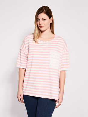 Printed oversize jersey T-shirt