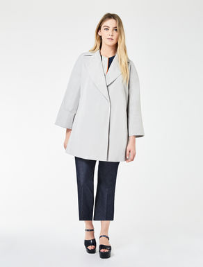 Duchesse faille raincoat