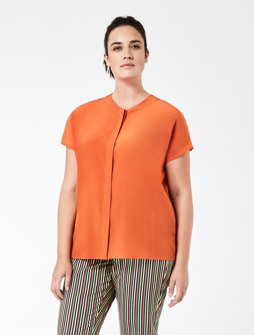 STELLA JEAN Crêpe de chine shirt