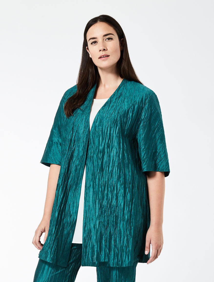 Linen and silk tunic