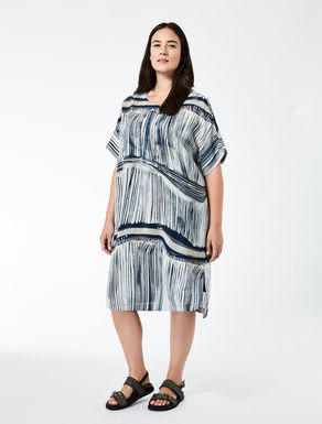 Kleid aus Crêpe de Chine in Seide