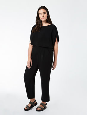 Lightweight triacetate jumpsuit
