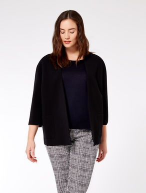 Loose-fit cardigan in comfort viscose