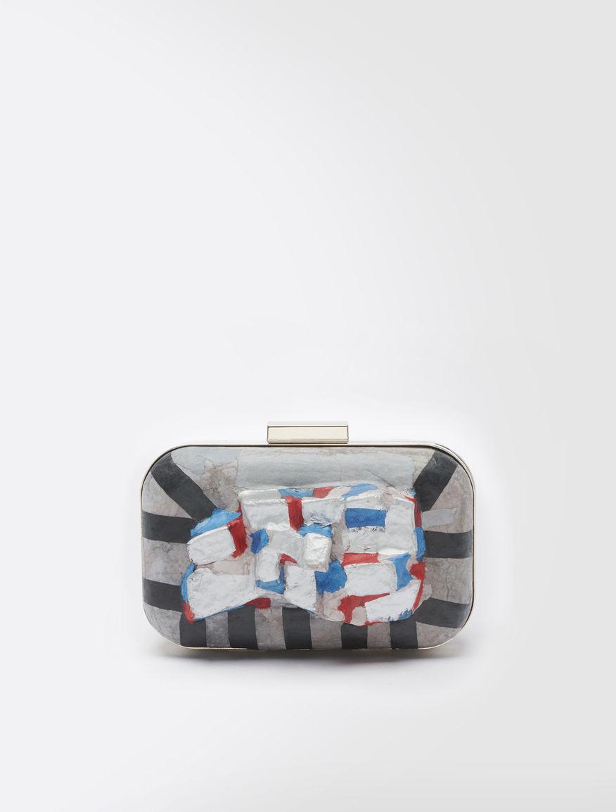 STELLA JEAN Mosaic clutch