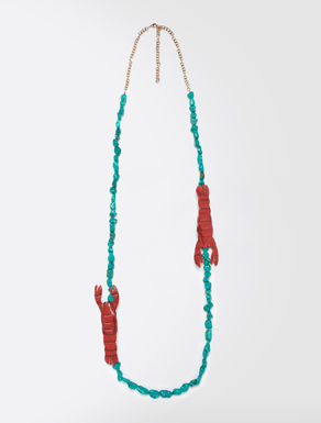 STELLA JEAN Hard stone necklace