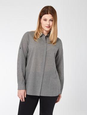Camicia in cotone vichy