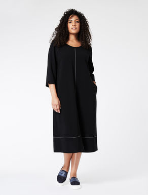 Compact comfort triacetate dress