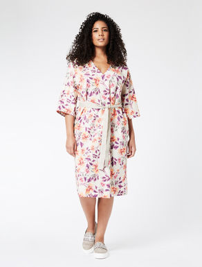 Lightweight printed cotton dress