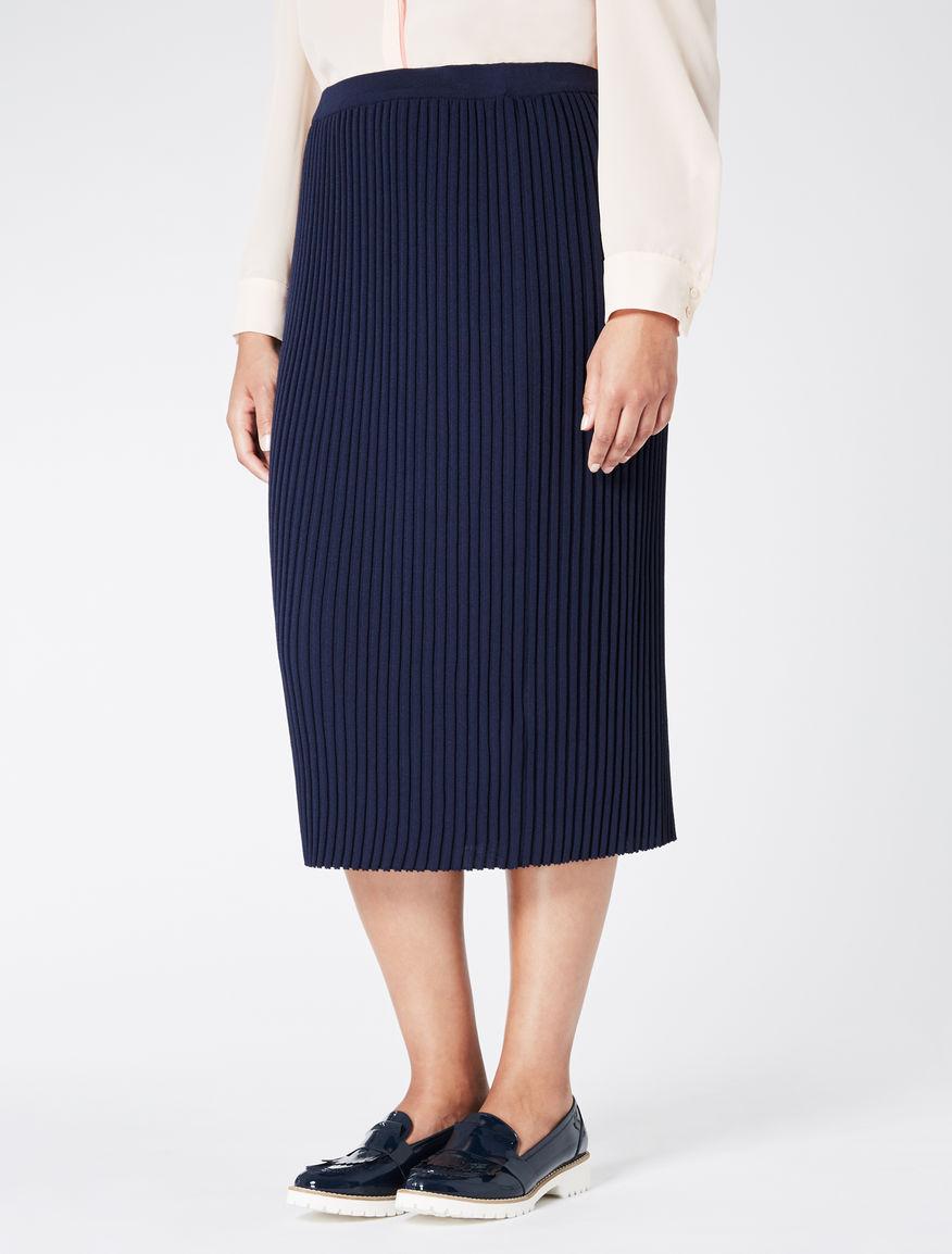 Viscose crêpe longuette skirt