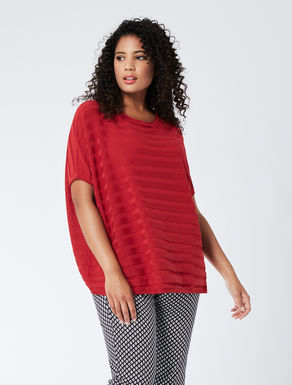 Oversize pure cotton sweater