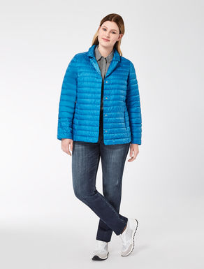 Short super-lightweight down jacket