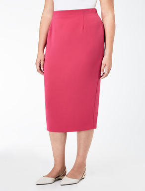 Compact comfort triacetate skirt