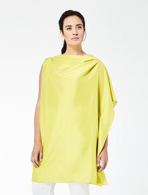 Slub silk tunic