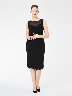 Comfort triacetate tube dress
