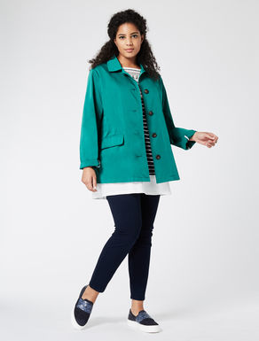 Faille raincoat