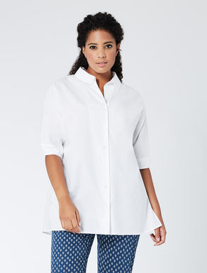 Comfort cotton poplin shirt