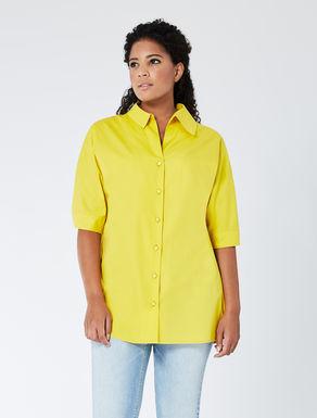 Comfort cotton poplin shirt