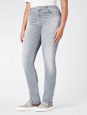 Super stretch denim slim-fit jeans
