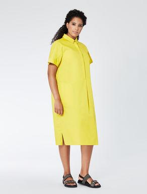Cotton poplin shirt-dress