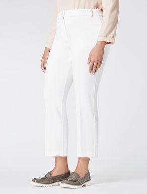 Jersey cigarette trousers