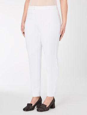 Cotton and nylon leggings