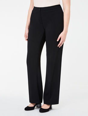 Floaty crêpe Original fit trousers
