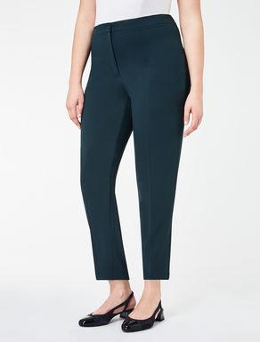 Super slim-fit crêpe trousers