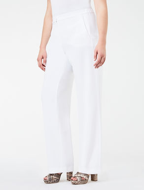 Triacetate palazzo trousers