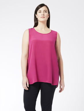 EASY Top in silk crêpe de chine