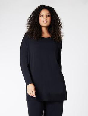 EASY TRAVEL Oversize viscose sweater