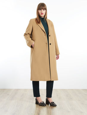 Cappotto in lana beaver
