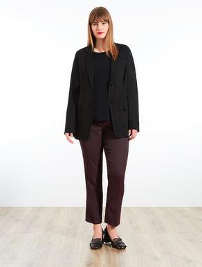 Jersey blazer jacket