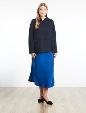 Patterned jersey jacket