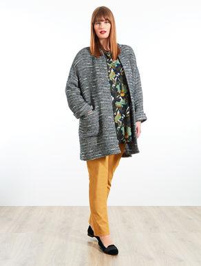 Giacca in maglia con tasche