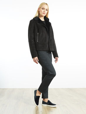 Sheepskin-effect jacket