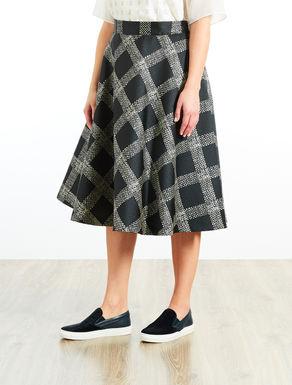 Mikado midi skirt
